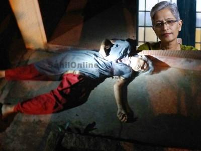 گوری لنکیش کے قتل میں قانون کی ناکامی کا کتنا ہاتھ؟وارتا بھارتی کا اداریہ  ............  (ترجمہ : ڈاکٹر محمد حنیف شبابؔ )