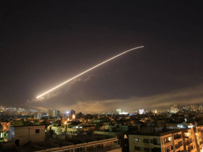 US, UK, France launch joint strikes on Syria