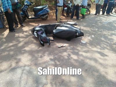 Woman run over by mini lorry in Kumta