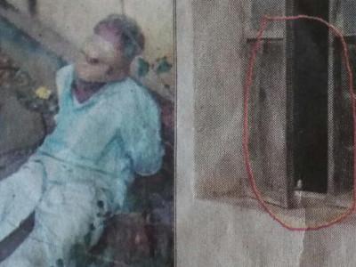منڈگوڈ میں چوکیدار کو رسیوں سے باندھ کر بینک لوٹنے کی ناکام کوشش