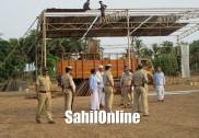 بھٹکل میں راہول گاندھی کا 26اپریل کو انتخابی جلسہ سے خطاب : ایس پی نے لیا حفاظتی انتظامات کا جائزہ