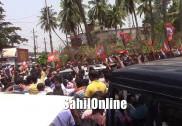 بھٹکل رکن اسمبلی کی کار روک کر بی جےپی کارکنان نے کی نعرے بازی