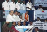 Vaidya, Sunil file papers for Bhatkal Assembly seat
