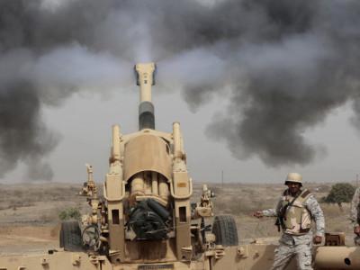 سعودی افواج نے یمنی حوثیوں کا بیلسٹک میزائل تباہ کر ڈالا