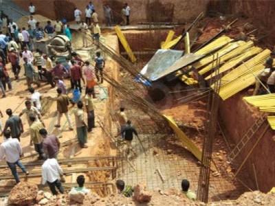 مینگلور کے قریب پتورمیں تعمیراتی سائٹ پرمٹی ڈھلنے سے 2مزدور ہلاک
