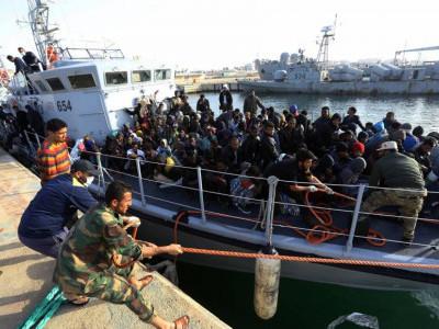 لیبیا میں کشتی ڈوبنے سے 11 افراد ہلاک، 263 کو بچا لیا گیا