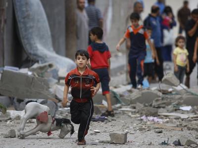 غزہ میں پراسرا دھماکے کے نتیجے میں ایک فلسطینی شہید