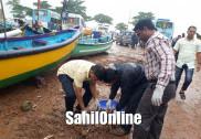 مرڈیشور ساحل پر ضلع پنچایت سی ای اؤ محمد روشن نے کیا صفائی پروگرام کا افتتاح