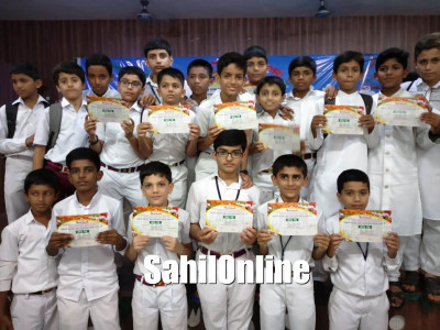 مرڈیشور کلسٹر لیول پرتیبھا کارنجی مقابلہ جات میں نیو شمس اسکول کے طلبا کا بہترین مظاہرہ