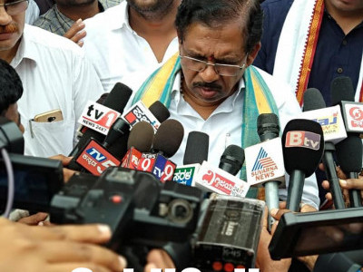 Goonda Act against those who misuse social media: DyCM Parameshwar in Honnavar