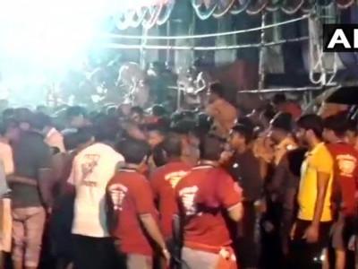 بہار کے مظفرپور کے غریب ناتھ مندر میں مچی بھگدڑ، 15 لوگ زخمی