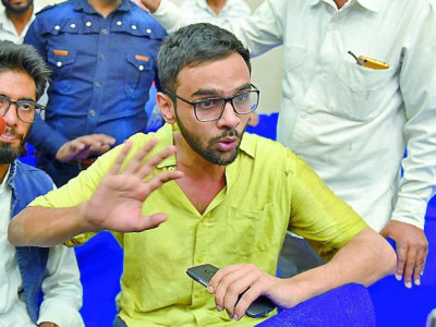JNU student leader Umar Khalid attacked in Delhi