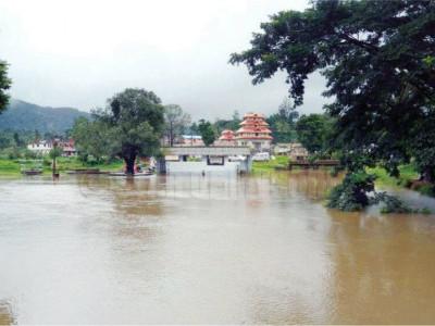 کورگ میں بارش کی بھاری تباہی ، تین اموات،زمین کھسکنے کے متعدد واقعات