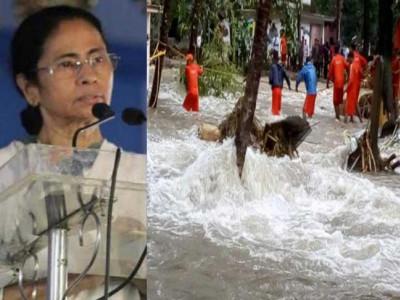 کیرل سیلاب متاثرین کے لئے ممتابنرجی کا اظہار ہمدردی،کیرل میں ہوئی تباہی کے بیان کے لیے الفاظ نہیں :ممتابنرجی