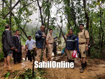 Rescue operation conducted in Madikeri taluk. More than 250 people rescued by DK police and NDRF team
