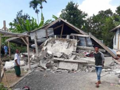 91 dead after powerful earthquake hits Indonesian resort islands of Bali, Lombok
