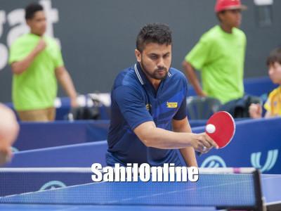پیر ا ٹیبل ٹینس میں شہرت کی بلندیوں کو چھو رہے ہیں کمٹہ کے نوجوان کھلاڑی ناظم