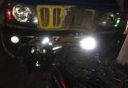 بھٹکل میں بائک اور جیپ کی ٹکر؛ بائک سوار زخمی