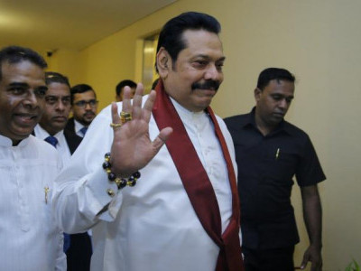 Mahinda Rajapaksa resigns as Lanka's PM