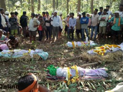 ہلیال میں چار لوگوں کی غرقابی کا معاملہ: ضلع انچارج وزیر دیش پانڈے کی اہل خانہ سے تعزیت ۔ سرکار ی امداد کا وعدہ