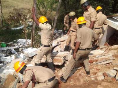 کرناٹکا کے کولار میں اسکول کی دیوار گرنے سے ساتویں جماعت کی طالبہ فوت