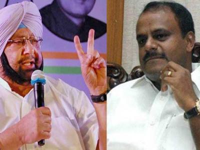 Punjab, Karnataka CMs in list of criminal cases pending against legislators submitted to SC
