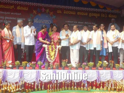 Udupi: Minister for Women and Child Welfare Jaimala inaugurated the sports and cultural meet at Kota