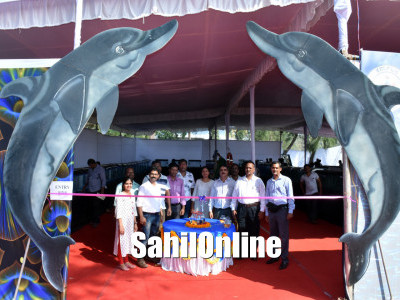 Karavali Utsav 2018: Admiral K J Kumar, Flag Officer Commanding, Karnataka Naval Area, inaugurated fruits and flower exhibition and fish festival in Karwar