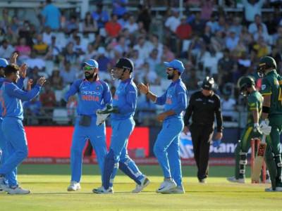 ہندوستان نے جنوبی افریقہ میں سیریز جیت کر تاریخ رقم کی