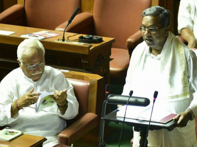 Karnataka CM presents Rs 383 cr deficit​ Budget