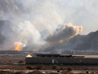 یمن:عرب اتحاد کا حجہ میں فضائی حملہ، حوثیوں کا اسلحہ ڈپو تباہ