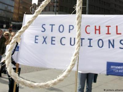 ایران میں رواں سال تین کم سن بچوں کو پھانسی پر لٹکا دیا گیا:یو این