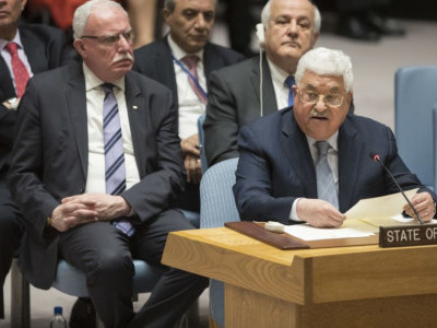 فلسطینی صدر سلامتی کونسل میں امن عمل کے نئے فارمولے کا مطالبہ کریں گے