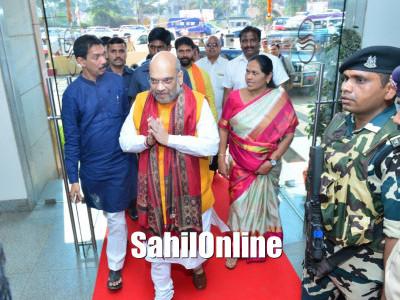 BJP president Amit Shah tours coastal Karnataka ahead of assembly elections