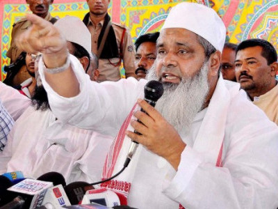 Badruddin Ajmal hits back at Army chief for 'political statement'