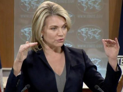 مشرق وسطیٰ امن بات چیت میں دوسرے ملکوں سے تعاون کریں گے:امریکہ