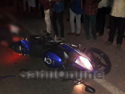 اُڈپی کے کاپو میں ٹینکرکی بائک سے ٹکر؛ بائک سوار ہلاک