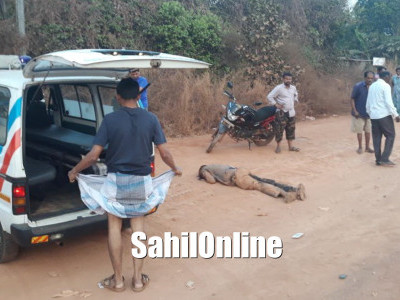 Hit and run case reported in Marvanthe NH-66, Near Kundapur, One killed another seriously injured