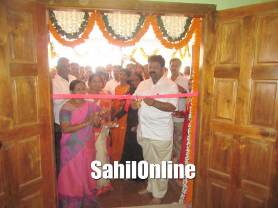 Bhatkal: New building of Muttali Gram Panchayat inaugurated under the presence of MLA Mankal Vaidya, other programs also held