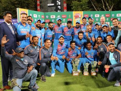 ہندوستان نے جنوبی افریقہ کو ہرا کر ٹی 20سیریز جیت لی