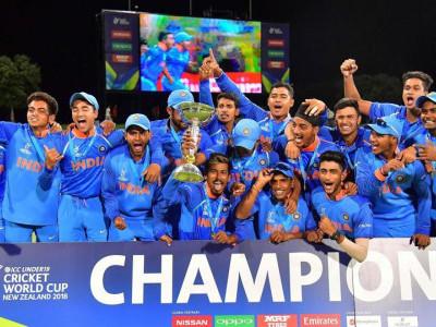 انڈر -19 عالمی کپ: ہندوستان نے آسٹریلیا کو ہرا کر خطاب جیتا