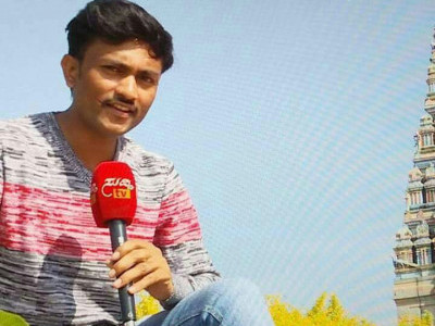 Bike rams into tree: Suddi TV correspondent dies