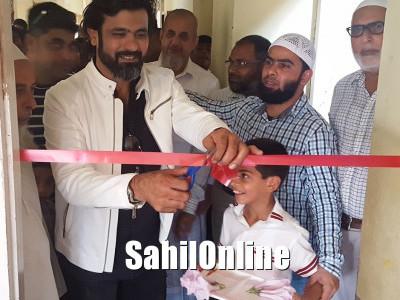 بھٹکل: نیو شمس اسکول میں لسانی تجربہ گاہ کا افتتاح