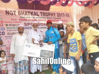 YMSA NGT-Bhatkal T20 Trophy: 3 time man of the match Hameed sails ANFA to a 13-run victory over Azad Youth Club