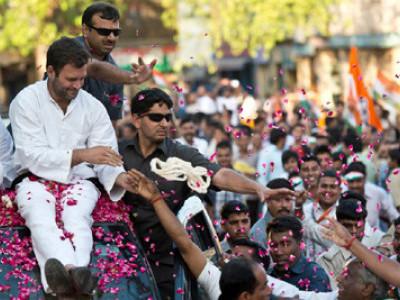 اپنے سیاسی مفاد کے لیے بی جے پی نے فوڈ پارک چھین لیا ،راہل گاندھی کا امیٹھی روڈشو،مودی پر تنقید، بی جے پی ۔کانگریس کارکنوں میں تصادم