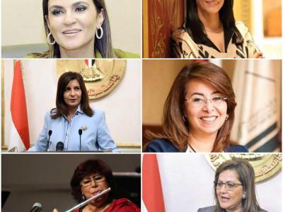 مصر : پہلی مرتبہ کابینہ میں 6 خواتین شامل