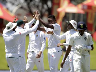 دوسرٹیسٹ میں بھی ہندوستانی ٹیم کو شرمناک شکست، سیریز جنوبی افریقہ کے نام