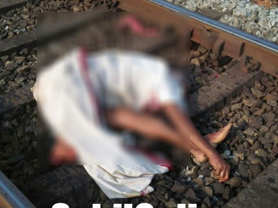 Man commits suicide on railway track in Kumta