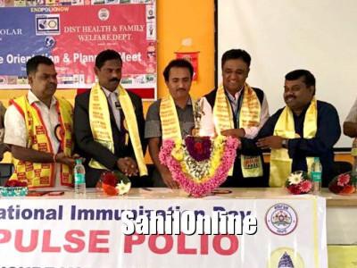 ಕೋಲಾರ : ಪೋಲಿಯೋ ನಿರ್ಮೂಲನೆಗೆ ಕಾರ್ಯಾಗಾರ