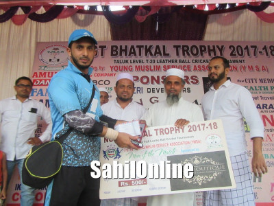 YMSA NGT-Bhatkal T20 Trophy: Lion enters into finals after defeating Azad by 2 wickets